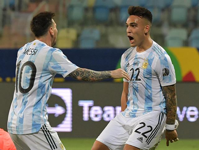 Argentina derrotó a Ecuador y enfrentará a Colombia en las semifinales