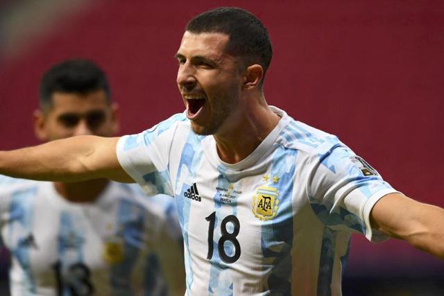Guido Rodríguez ha sido pieza importante para Argentina en el torneo