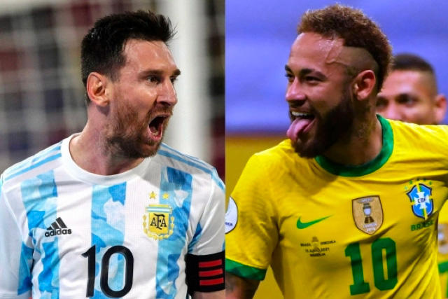 Messi y Neymar se enfrentarán por primera vez en una final