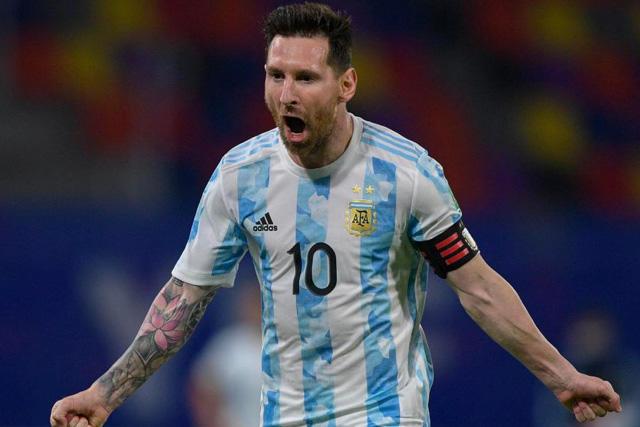 Messi es el líder goleador del torneo