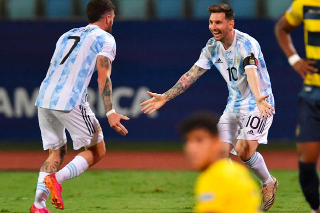 Messi ha sido pieza clave en las anotaciones de su equipo