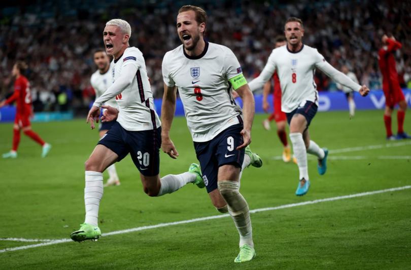 Un penal en tiempos extra definió el pase a la final de Inglaterra