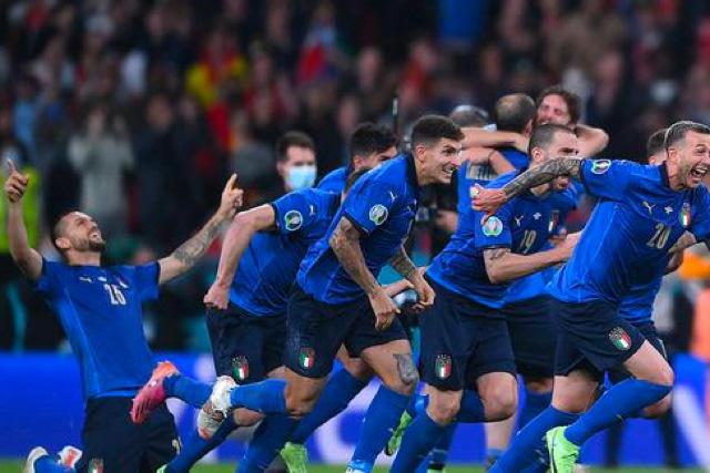 Italia se ha consolidado como candidato para el título en Wembley