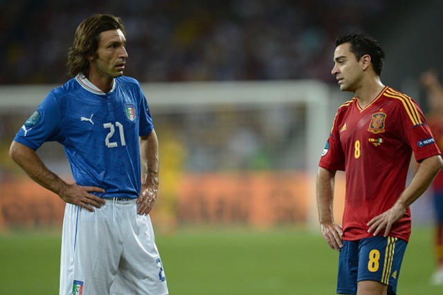 Ni Pirlo y compañía pudieron evitar que España lograra el triplete Euro-Mundial-Euro en 2012