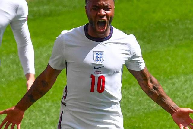 Sterling ha sido una de las figuras de Inglaterra durante el torneo