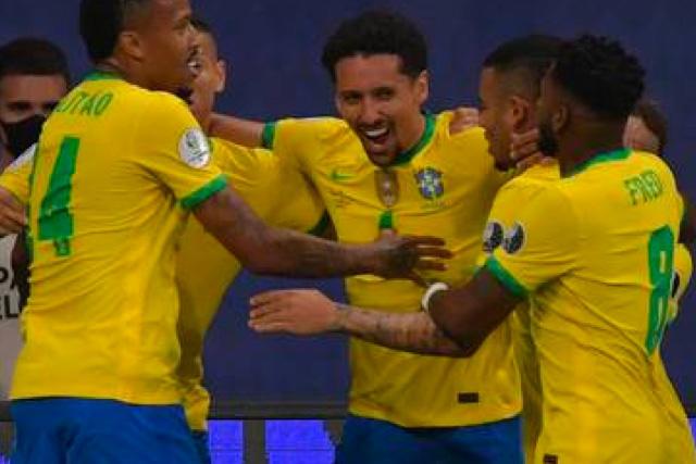 Brasil ha demostrado dominio en todas sus líneas y buscará terminar el trabajo