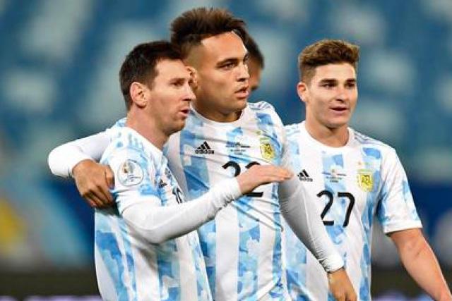 Messi y Lautaro han encabezado el ataque de Argentina en el torneo