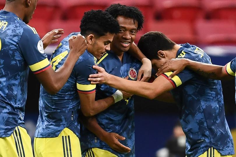 Colombia se llevó el tercer lugar por un golazo de Díaz