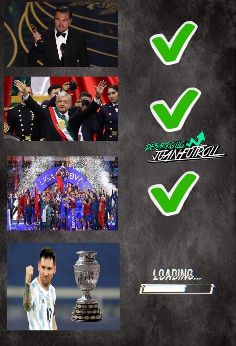 Los memes de la final de la Copa América entre Argentina y Brasil