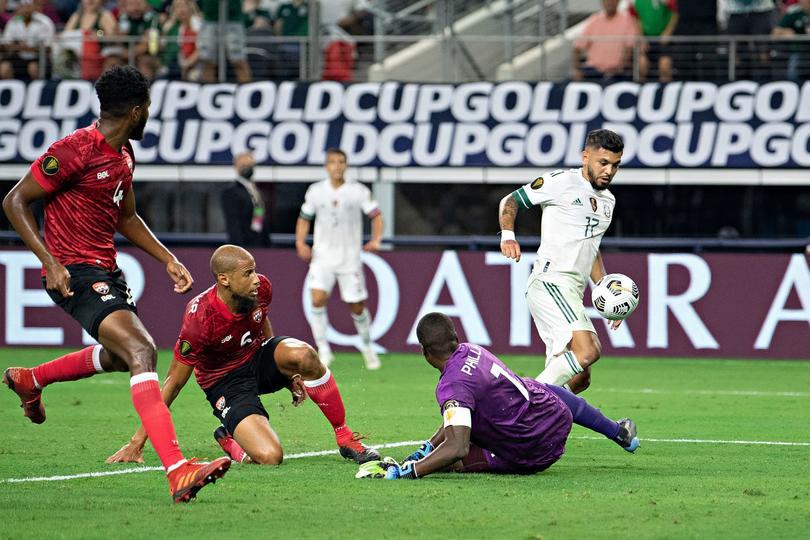 La Selección Mexicana no pudo ante Trinidad y Tobago en su debut de la Copa Oro
