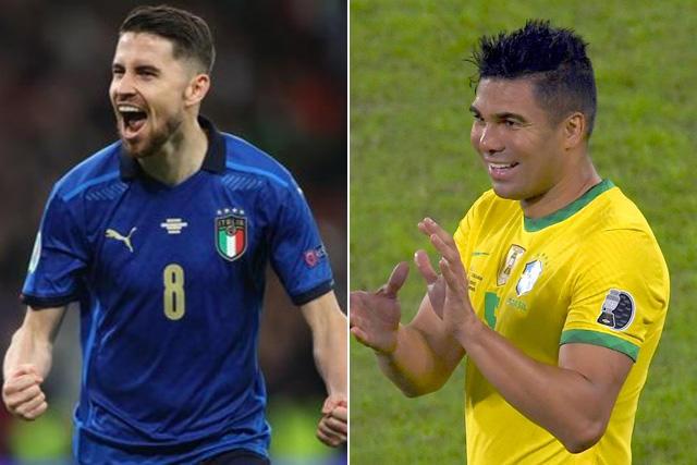Jorginho vs Casemiro