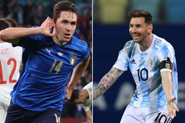 Chiesa vs Messi