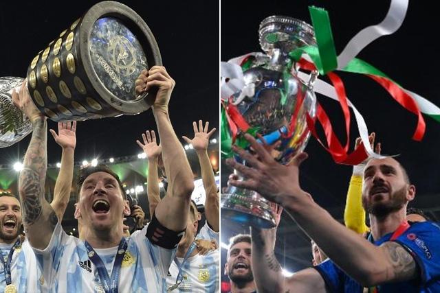 XI ideal de la Euro vs XI ideal de la Copa América
