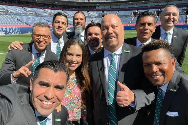 Equipo de TUDN para la Copa Oro