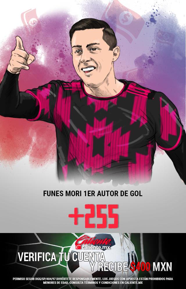 Si crees que Rogelio Funes Mori, es el primer autor de un gol en el partido de la Selección Mexicana vs El Salvador, apuesta en Caliente y llévate mucho dinero.