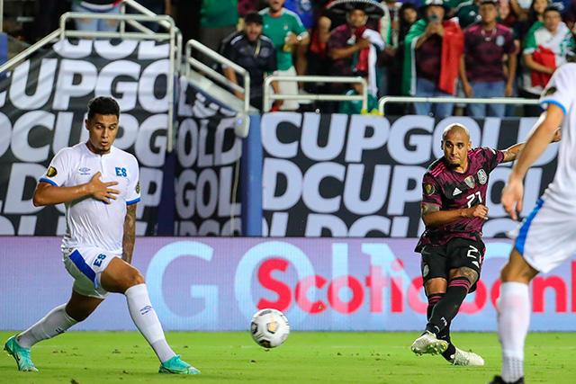 El Chaka Rodríguez abrió el marcador ante El Salvador