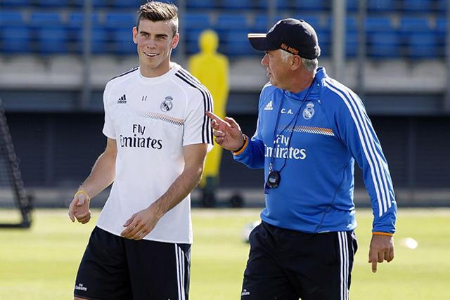 Gareth Bale y Carlo Ancelotti se reencontrarán en el Real Madrid