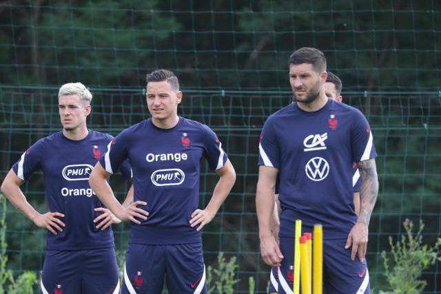 Gignac y Thauvin son las dos principales figuras del equipo francés para Tokio 2020