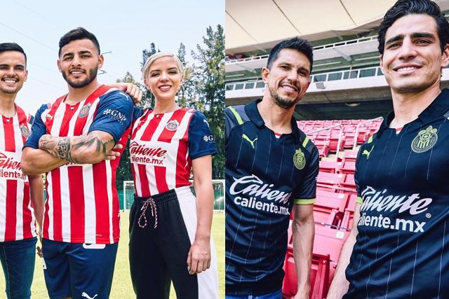 Las Chivas destacaron por la elegancia y modernidad de sus uniformes