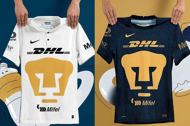 Pumas regresó a un diseño elegante, atractivo y sencillo para sus uniformes
