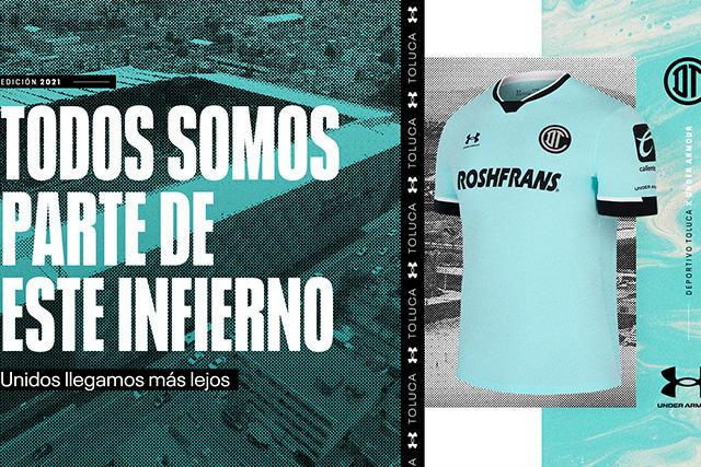 Nuevo jersey del Toluca