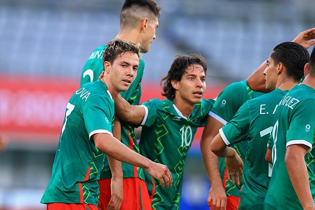 México goleó 4-1 a Francia e su debut en Tokio 2020