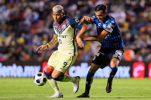 América y Querétaro empatan sin goles