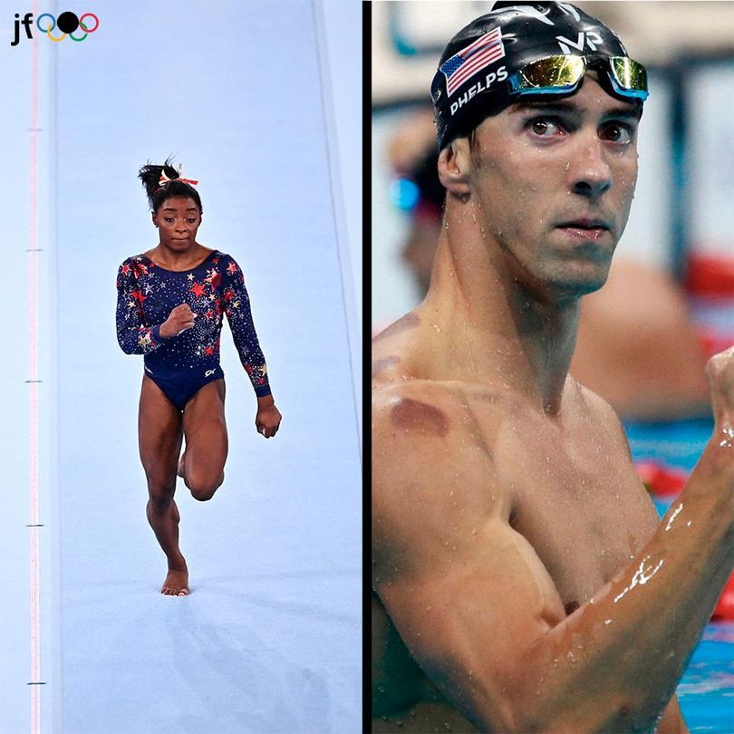 Michael Phelps compartió un mensaje de apoyo a Simone Biles luego de su retirada de Tokio 2020
