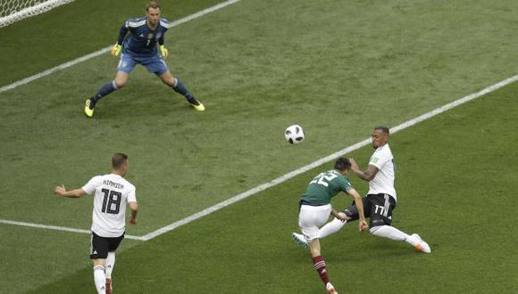 Chucky venciendo la portería de Neuer