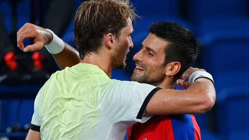 Zverev derrotó a Djokovic en semifinales
