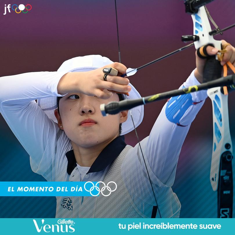 San An ganó medalla de oro en las tres pruebas en las que participó