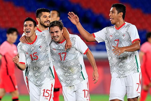 México goleó 6-3 a Corea del Sur para avanzar a semifinales en Tokio 2020