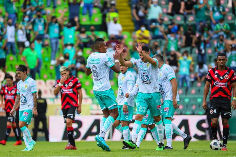 León celebra la victoria