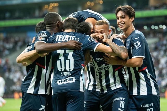 Monterrey logró la victoria contra Pumas.