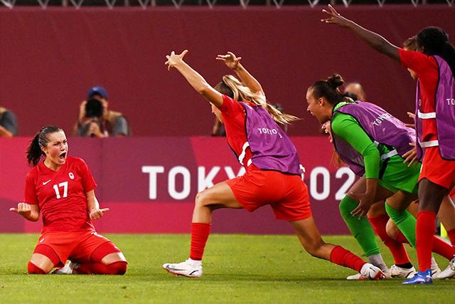Canadá eliminó a Estados Unidos y jugará por el oro en el futbol femenil