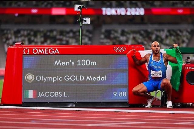Detrás de la medalla de oro de Marcell Jacobs está la historia de haber encontrado a su padre