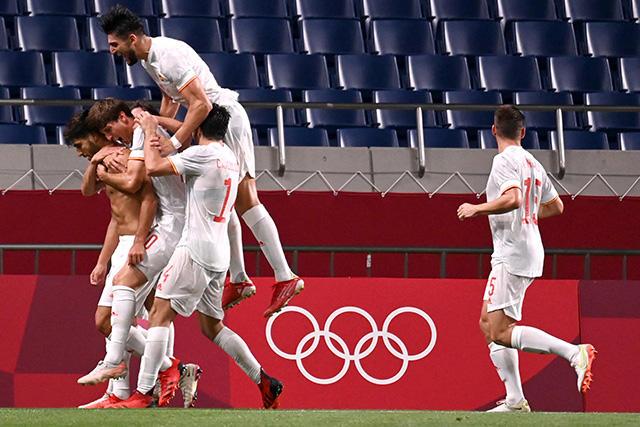 Marco Asensio anotó el gol del pase para España a la final