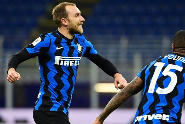 Eriksen ya reportó con el Inter