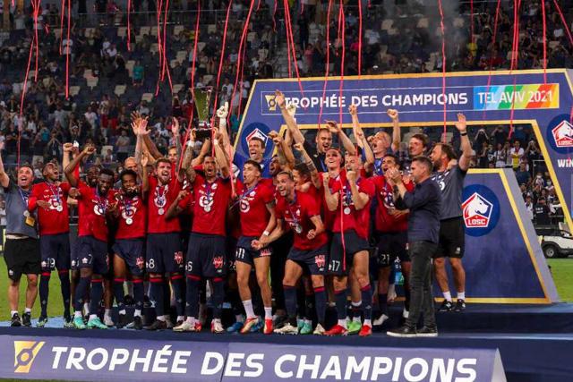 Lille OSC arrancará el torneo como campeón de liga y la de la Supercopa de Francia