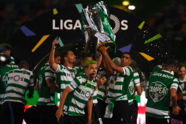 El Sporting de Lisboa consiguió el título de liga después de 19 años