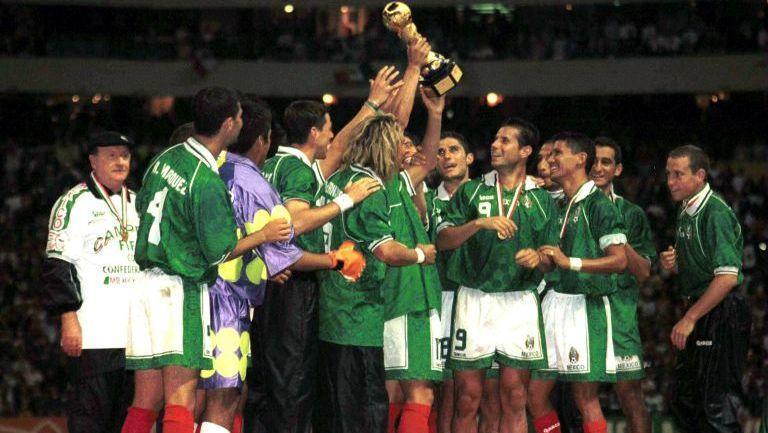La confederaciones del 99 marcó historia en la Federación Mexicana de Futbol.