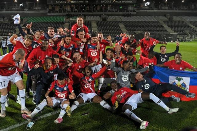 Lille campeón de la Liga de Francia