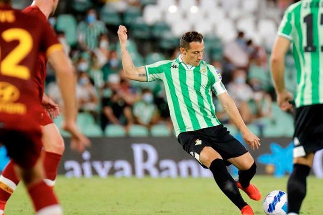 Andrés Guardado líder del Betis
