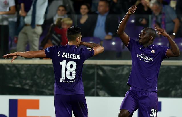 Salcedo jugó una temporada con la Fiore