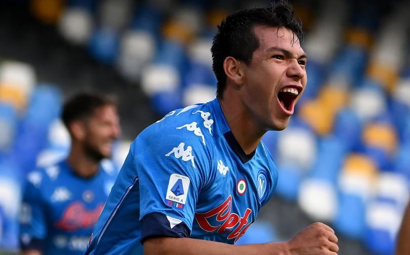 Lozano tuvo una buena segunda temporada con el Napoli