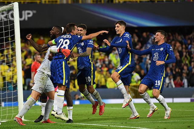 Kepa entró de cambio al 118 y tapó dos penales para que Chelsea saliera victorioso