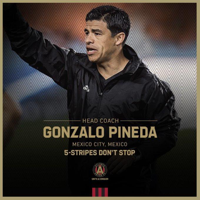 Gonzalo Pineda nuevo técnico de Atlanta United