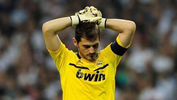 Iker Casillas el mítico portero de Real Madrid