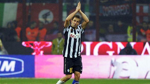 La leyenda de Juventus Alessandro Del Piero