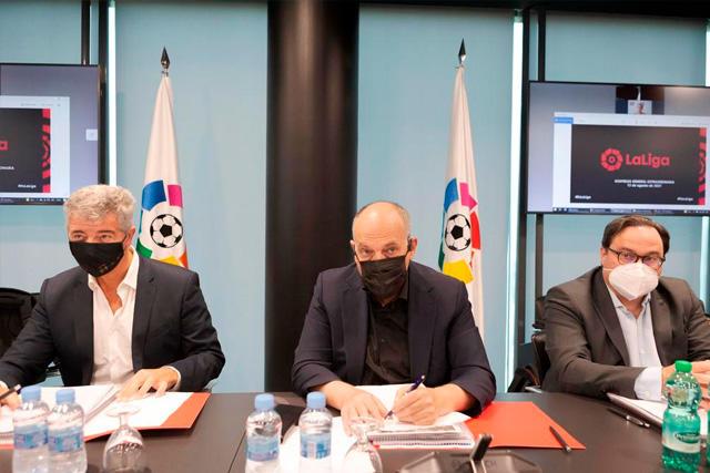 LaLiga firma acuerdo con el Fondo CVC, rechazado por el Madrid, Barça y Athletic
